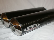 Hindle 16x2 Oval Undertail Carbon Fiber Stealth Muffler Set - CFS162OVUY