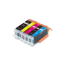 5 PK Printer Ink + Chip for Canon PGI-250 CLI-251 MG5420 MG5422 MG5520 5522
