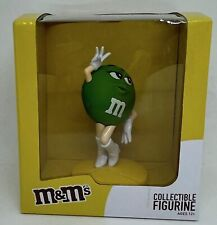 M&M's World Green Collectible Figurine New With Box