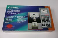Casio Calculator OH-7700GB Graphic Pre Owned For Parts