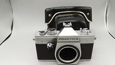 +Vintage Praktica Super TL 3 Pentacon Rangefinder Film Camera Body +Leather Case