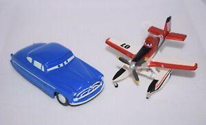 Planes 2 Bullyland 07 and Disney Pixar Cars Hudson Hornet Blue Car Figures B03