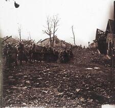 Première Guerre mondiale 14-18 WW1 France Plaque de verre Stereo E12 Vintage