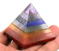 Jet Chakra Bonded Pyramid Free Booklet Jet International Crystal Therapy.