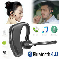 Wireless Bluetooth 4.0 Headphone HandsFree Car Kit Headset Music Voice Earpiece