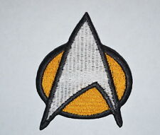 #253 STAR TREK The Next Generation PATCH - Embroidered, Iron-On Crew Comm Badge