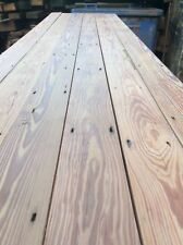 Reclaimed pitch pine flooring floorboards floor boards wood