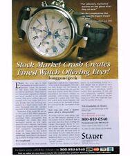 2004 STAUER Meisterzeit Wristwatch Print Ad