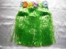 Grass Skirt Hawaiian Fancy Dress Tropical Party Cloose 9 Colour