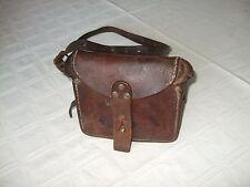 WW I Rare Antique French Military Lebel&BerthierM1916 Leather Ammo Cartridge Bag