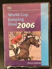 FEI World Cup Jumping Final 2006 DVD Brand New