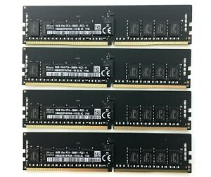 2017 iMac Pro A1862 64GB Memory Kit 4x 16GB ECC DDR4 2666MHz RAM Apple Original