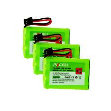 3pcs Cordless Phone Batteries for Uniden BT-909 BT909 HHP-P102 KX-TC3939/3910