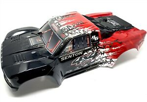 Arrma SENTON 4x4 3s BLX - Body Shell (Red/WHITE/BLACK painted decaled ARA4303V3