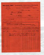 """BRIVE (19) USINE d'EXTRAITS TANNANTS / BOIS de CHATAIGNIER """"COMPTOIR"""" en 1929"""