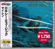 Sealed! ROXY MUSIC Siren JAPAN CD w/Cool Price OBI VJCP-3278 '96 issue Free S&H
