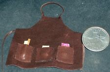 Western Cowboy Cowgirl Hat 1:12 Toy Flock Plastic Dollhouse Miniature NC-062261