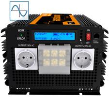 Edecoa puro sinus transformador de tensión 12v 230v 3500w 7000w inversor RV camiones