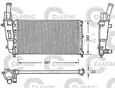Engine Cooling Radiator VALEO Fits FIAT Punto Cabrio Hatchback 1994-2000