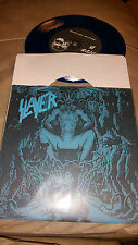 "Slayer -Striders Club BLUE VINYL 7"" EP venom bathory death"