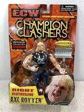 Axl Rotten ECW WWF Figure WWE Vintage Champion Clashers Toymakers 2000 MOC