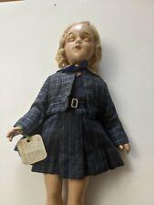 "Vintage 20"" Arranbee R&B Debu'teen Doll Composition 1938-39"