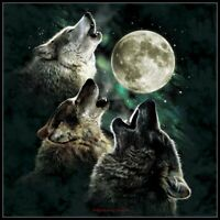 Three Wolf Moon -Chart Counted Cross Stitch Pattern Needlework Xstitch craft DIY