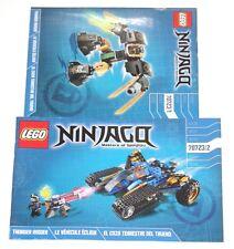 LEGO Ninjago Thunder Raider ORIGINAL INSTRUCTIONS ONLY 70723