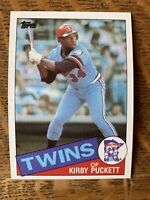 1985 MINNESOTA TWINS Topps COMPLETE MLB Team SET 32 Cards PUCKETT RC HRBEK VIOLA