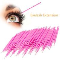 100/200/300 Swab Micro Brush Disposable Applicator Eyelash Extensions tool UK