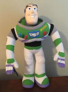 "Disney Pixar Buzz Lightyear 13"" Plush With Hard Platic Head."