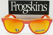 Oakley Frogskins Sunglasses OO9245-7254 Matte Red Grips | Prizm Ruby Asia Fit