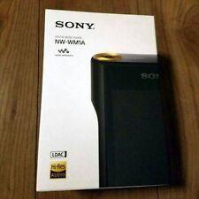 NEW SONY Digital Audio Player Portble Walkman NW-WM1A B Black 128GB Japan