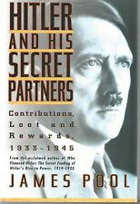 HITLER & SECRET PARTNERS by Pool HITLER YEARS Matanle HITLER BOOK Eberle 3 BOOKS