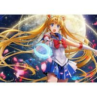 Sailor Moon Full Drill 5D Diamond Painting Embroidery Decor Cross Stitch DIY