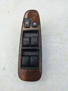 1998 1999 2000 LEXUS LS400 Driver Master Power Window Switch with Wood Trim