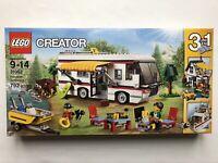 LEGO Creator 31052 Vacation Getaways - 3 in 1 RV + Boat + Cabin - Retired New