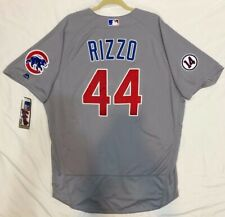 AUTHENTIC 52 2XL, CHICAGO CUBS ANTHONY RIZZO MAJESTIC FLEX BASE JERSEY