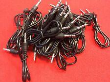 0.5m Mini 3.5mm Mini Jack to Jack Audio Cable Sound Lead, 50cm, Job X 20 Cables.
