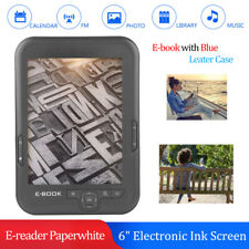 "6"" E-Ink Touch E-book eBook Reader MP3 Player 4GB+32GB TF FM USB 29 languages"