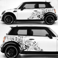 Graphic Vinyl Graffiti Car Sticker Rear Wheel Fender Decal For Mini Cooper Coupe