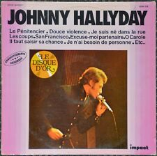 33t Johnny Hallyday - Le disque d'or - Impact (LP)