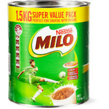 MILO MALTED DRINK BY NESTLE 1.5KG TIN - FREE POST