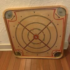 Vintage Carrom Game Board Double Sided #106 No Game Pieces