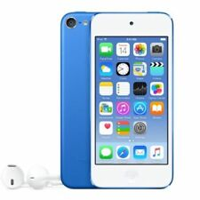 >>Apple iPod Touch 6th Gen (128GB) (Sky Blue) A8 Chip 8MP Cam - Apple Warranty<<