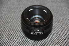 Yashica Kyocera AF 50mm f1.8 lens with Rear Cap