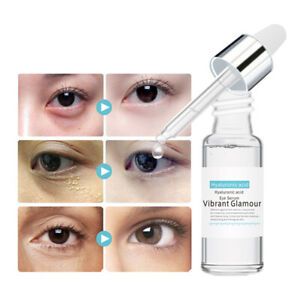 Hyaluronic Acid Eye Serum Essence Remove Dark Circles Anti Puffiness Treatment