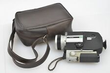 EXC++ TESTED FUJICA SINGLE-8 Z800 MOVIE CAMERA, CASE, NICE & CLEAN