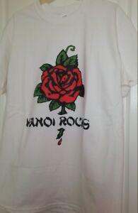 Hanoi Rocks 80s Glam Metal Music T Shirt Skid Row Poison Guns N' Roses Kiss R302
