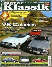 6245MK Motor Klassik 2011 1/11 Renault R4 Mustang 289 Mondial 500SL 107 Riviera